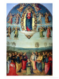 Assuption Giclee Print by Pietro Perugino