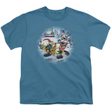 Youth: Garfield - Ice Skating T-shirts