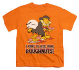 Youth: Garfield - I Vant Doughnuts T-shirts