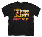 Youth: Garfield - Count Me In Shirts