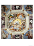 Ceiling of the Hall of Olympus Giclée-tryk af Paolo Veronese