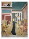 Scenes from the Life of St. Catherine: Martyrdom of Saint Catherine Giclee Print by Tommaso Masolino Da Panicale