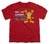 Youth: Garfield - Cat Man Shirts