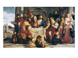 Cena in Emmaus Giclee Print by Paolo Veronese