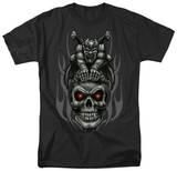 Lethal Threat - Gargoyle Skull Shirts