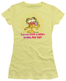 Juniors: Garfield-From Zero To Perky T-Shirt