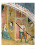 Scenes from the Life of St. Catherine: Saint Catherine Converting the Empress and Martyrdom Giclee Print by Tommaso Masolino Da Panicale