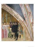 Storie Della Vita Di S. Ambrogio: Elezione a Vescovo Giclee Print by Tommaso Masolino Da Panicale