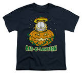Youth: Garfield - Cat-O'-Lantern T-shirts