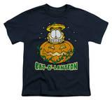 Youth: Garfield - Cat-O'-Lantern T-shirts
