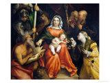 Sacra Conversazione Giclee Print by Lorenzo Lotto