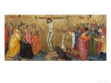 Korsfæstelse Giclée-tryk af Taddeo di Bartolo
