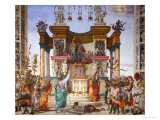 Scenes from the Life of Saint Philip: the Saint Driving the Dragon from the Temple Giclee Print by Filippino Lippi