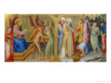 Meeting Between Saints James and Hermogenes Giclée-tryk af Lorenzo Monaco