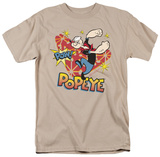 Popeye - POW! T-shirts