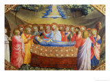 Annunciation Giclee Print by  Angelico & Strozzi