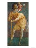 S. Cristoforo Giclée-tryk af Masaccio