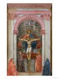 Die Heilige Dreifaltigkeit Giclée-Druck von  Masaccio