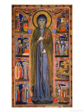 Saint Clare and Scenes from Her Life Giclee Print by  Master Of St. Chiara