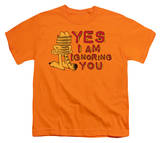 Youth: Garfield - Yes I Am Shirts