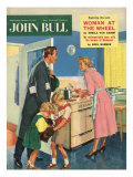 John Bull, Cooking Magazine, UK, 1957 Art