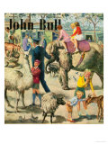 John Bull, London Zoo Magazine, UK, 1949 Art