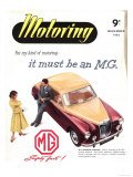 MG Cars, UK, 1950 Giclee Print