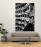 Audience in Elegant Boxes at La Scala Opera House Wall Mural by Alfred Eisenstaedt
