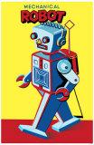 Mechanical Robot Masterprint