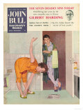 John Bull, Exercise Bathrooms Magazine, UK, 1950 Posters