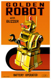 Golden Robot Masterprint