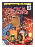 Practical Mechanics, DIY Breakfast Kettles Tea Makers Magazine, UK, 1950 Prints