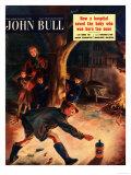John Bull, Guy Fawkes Fireworks Magazine, UK, 1953 Poster