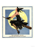 Witches at Halloween, USA, 1920 Prints