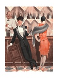 Le Sourire, Cocktails Magazine, France, 1920 Giclee Print