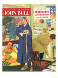 John Bull, Holiday Travel Agents Magazine, UK, 1950, Giclee Print