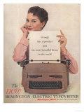 Remington, Secretaries Typewriters, USA, 1950 Giclee Print