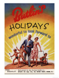 Holiday Butlins, UK, 1950 Giclee Print