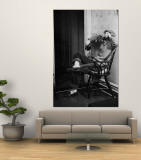 Teenage Girl Talking on the Telephone Premium Wall Mural by Nina Leen