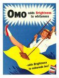 Omo, Washing Powder Products Detergent, UK, 1950 - Giclee Baskı