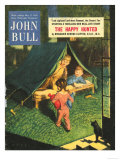 John Bull, Holiday Tents, Camping Adventures Magazine, UK, 1950 Prints