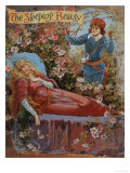 The Sleeping Beauty, Fairy Tales Children's Books Pantomimes Posters, UK, 1910 Prints
