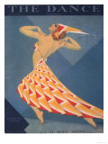 The Dance, Art Deco Magazine, USA, 1920 Prints