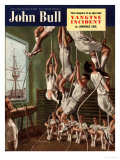 John Bull, Exercise Gyms Magazine, UK, 1950 Prints