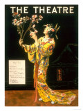 The Theatre, Japanese Geishas, USA, 1920 Posters