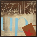 Wake Up Framed Canvas Print by K.c. Haxton