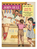 John Bull, Holiday Ice-Cream Magazine, UK, 1950 Prints