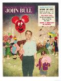 John Bull, Balloons Candy-Floss Magazine, UK, 1950 Prints