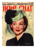 Home Chat, Hats Magazine, UK, 1940 Prints