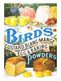 Bird's, Custard Blancmange, UK, 1920 Giclee Print